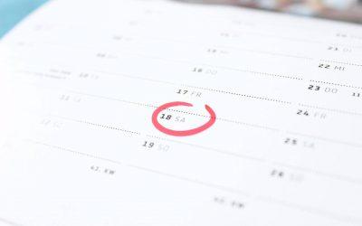 Calendarios personalizados año 2018